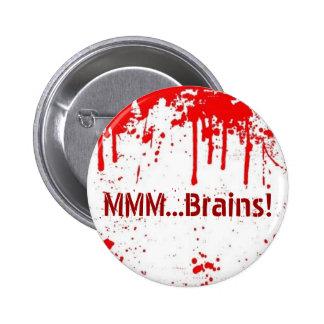 … Knopf der Gehirn-MMM Anstecknadelbutton