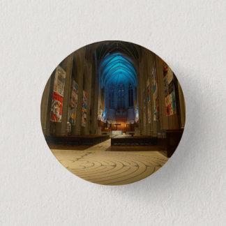Knopf der San Francisco Anmut-Kathedralen-#2 Runder Button 2,5 Cm
