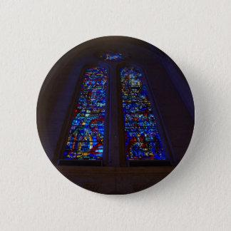 Knopf der San Francisco Anmut-Kathedralen-#3 Runder Button 5,1 Cm