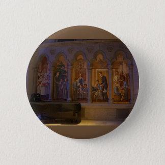 Knopf der San Francisco Anmut-Kathedralen-#5 Runder Button 5,7 Cm