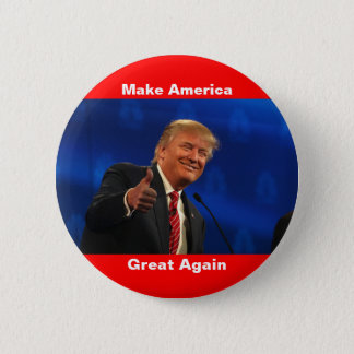 Knopf Donald Trump MAGA Runder Button 5,1 Cm