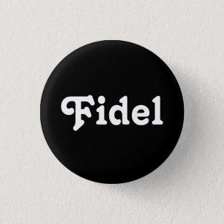 Knopf Fidel Runder Button 2,5 Cm