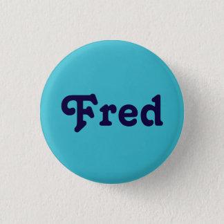 Knopf Fred Runder Button 2,5 Cm
