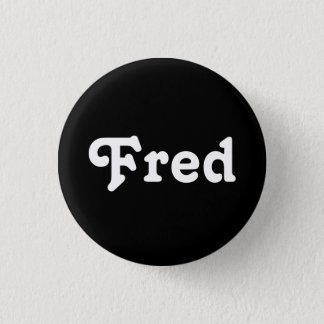 Knopf Fred Runder Button 3,2 Cm