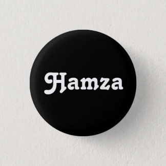 Knopf Hamza Runder Button 2,5 Cm