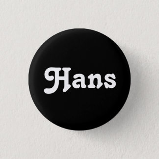 Knopf Hans Runder Button 2,5 Cm