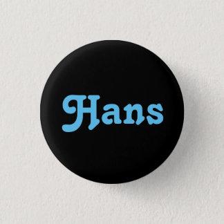 Knopf Hans Runder Button 3,2 Cm