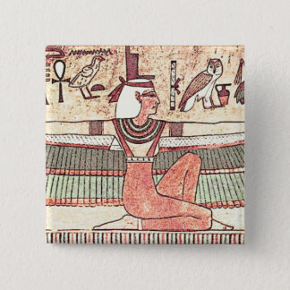 Knopf Isis 1360 BC Quadratischer Button 5,1 Cm