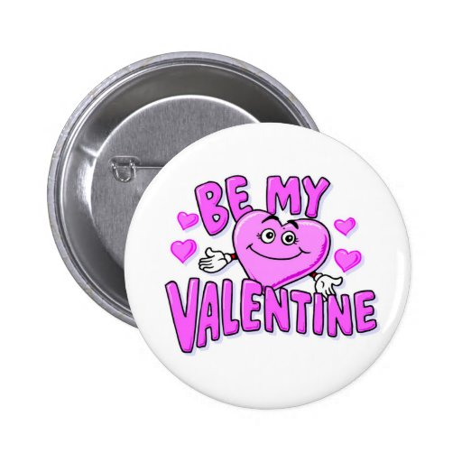 Knopf ist mein Valentinsgruß Anstecknadel