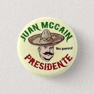 Knopf Juans McCain Runder Button 2,5 Cm