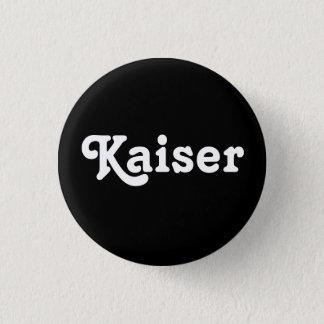 Knopf Kaiser Runder Button 2,5 Cm