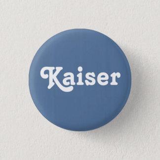 Knopf Kaiser Runder Button 3,2 Cm