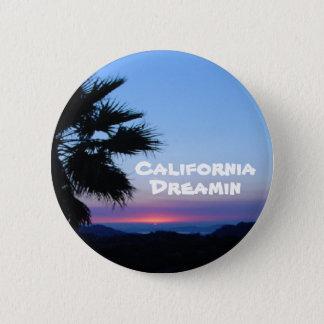 Knopf Kaliforniens Dreamin Runder Button 5,7 Cm