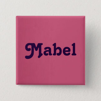 Knopf Mabel Quadratischer Button 5,1 Cm