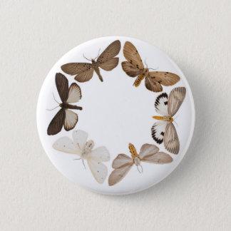 Knopf mit Schmetterlingsring Runder Button 5,1 Cm