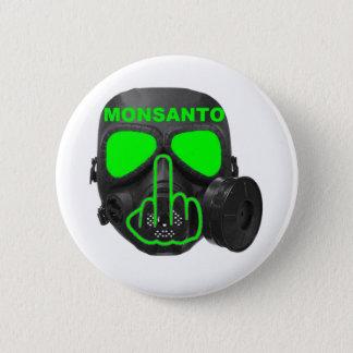 Knopf Monsanto Gasmaske drehen um Runder Button 5,7 Cm