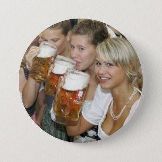 Knopf - Oktoberfest (Octoberfest) Runder Button 7,6 Cm