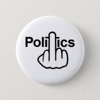 Knopf-Politiken drehen um Runder Button 5,1 Cm