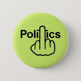 Knopf-Politiken drehen um Runder Button 5,7 Cm