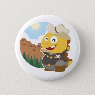 Knopf South Dakota VIPKID Runder Button 5,1 Cm