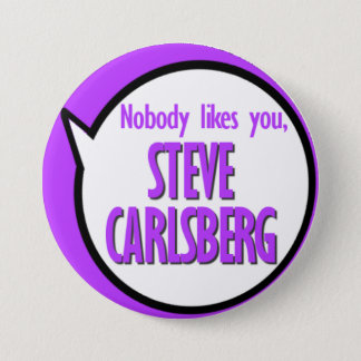 Knopf Steve Carlsberg Runder Button 7,6 Cm