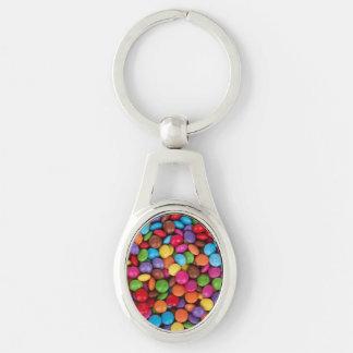Knopf-Süßigkeit Schlüsselanhänger