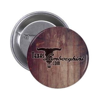 Knopf Texas Lamborghini Runder Button 5,1 Cm
