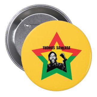 "Knopf Thomas Sankara ""Che"" Runder Button 7,6 Cm"