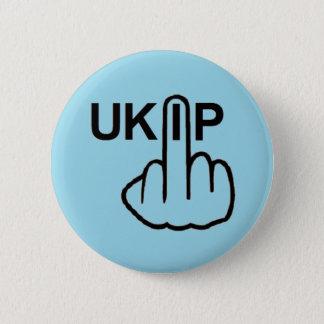 Knopf UKIP drehen um Runder Button 5,1 Cm