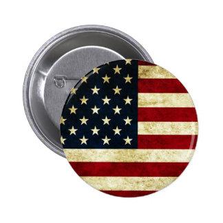 Knopf, USA, Flagge Anstecknadelbuttons
