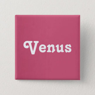 Knopf Venus Quadratischer Button 5,1 Cm