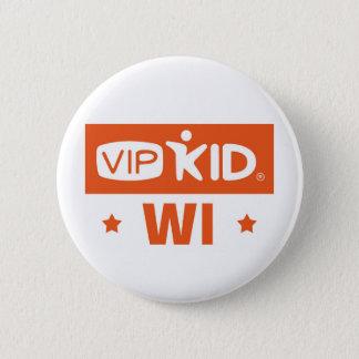 Knopf Wisconsins VIPKID Runder Button 5,7 Cm
