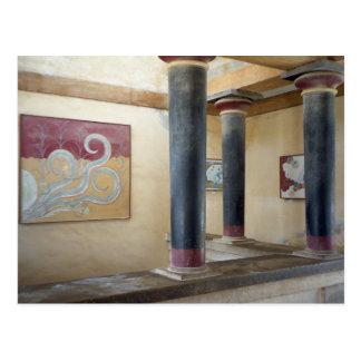 Knossos Tempel-Postkarte Postkarte