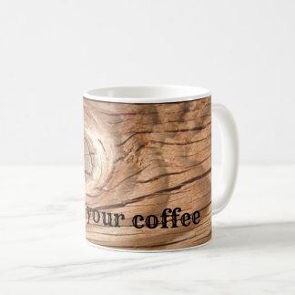 Knoten Sie Ihren Kaffee Kaffeetasse