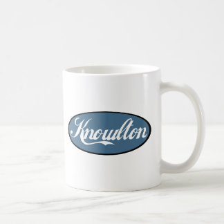 Knowlton Quebec vorbereitete Andenken Kaffeetasse