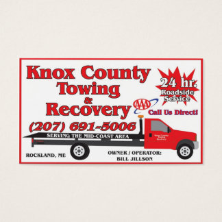 Knox County, das AAA schleppt Visitenkarte