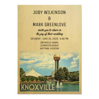 Knoxville-Hochzeits-Einladung Tennessee Karte
