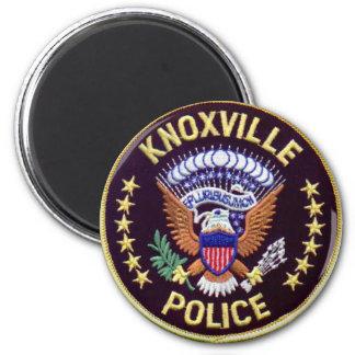 Knoxville-Polizeidienststelle-Magneten Runder Magnet 5,7 Cm