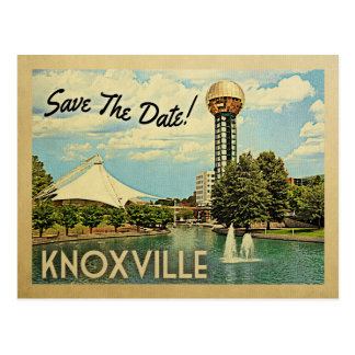 Knoxville Save the Date Tennessee Postkarte