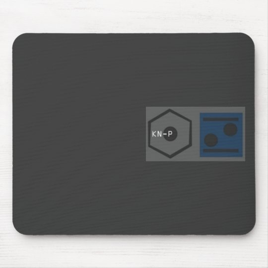 KNP- made in Berlin Mousepad