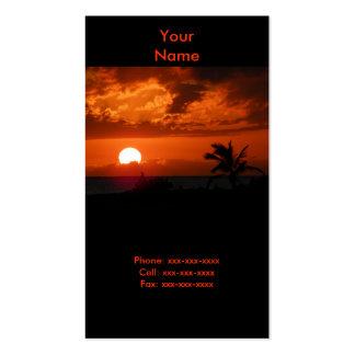 Ko Olina Sonnenuntergang-Visitenkarte