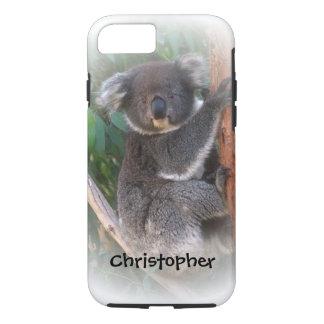 Koala-Bär addieren gerade Namen iPhone 7 Hülle