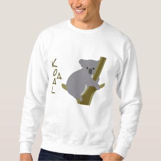 Koala-Bär in einem Baum ~ Stickerei-Muster Sweatshirt
