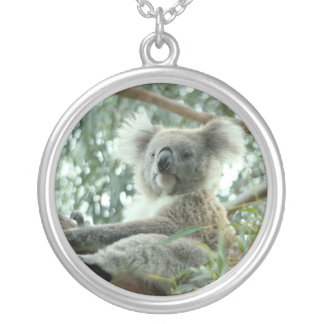 Koala-Bär Versilberte Kette