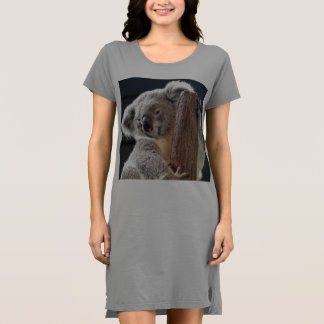 Koala-Bärn-Damen-T - Shirtkleid/Nightie Kleid