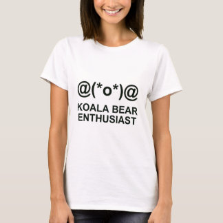 Koala-Bärn-Enthusiast T-Shirt