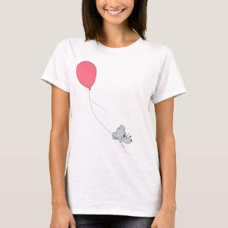 Koala, der weg schwimmt T-Shirt