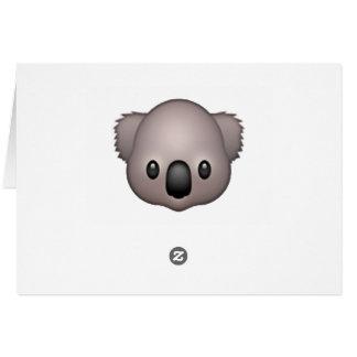 Koala - Emoji Karte