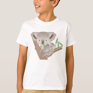 Koala-Familie T-Shirt