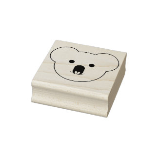 Koala-Gesichts-Gummi-Briefmarke Gummistempel